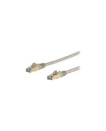 Startech.COM 7M CAT6A ETHERNET CABLE - GREY RJ45 SHIELDED CABLE SNAGLESS - PATCH CABLE - 7 M - GREY  (6ASPAT7MGR)