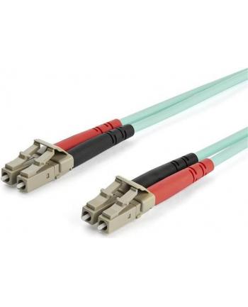 Startech.COM 15M OM3 LC TO LC MULTIMODE DUPLEX FIBER OPTIC PATCH CABLE - PATCH CABLE - 15 M - AQUA (A50FBLCLC15)