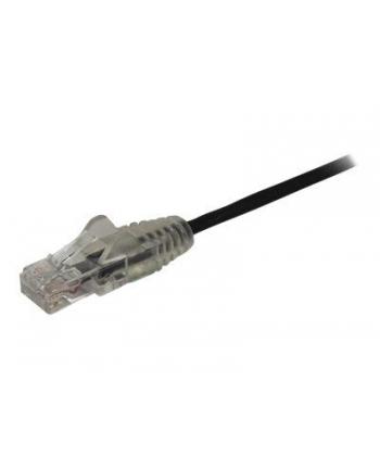 Startech.COM 2M CAT6 CABLE - BLACK SLIM CAT6 PATCH CORD - SNAGLESS - LSZH - PATCH CABLE - 2 M - BLACK (N6PAT200CMBKS)