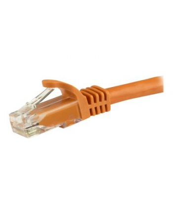 Startech.COM 7.5 M CAT6 CABLE - ORANGE PATCH CORD - SNAGLESS - ETL VERIFIED - PATCH CABLE - 7.5 M - ORANGE  (N6PATC750CMOR)