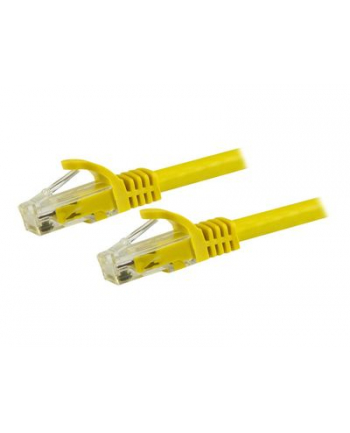 Startech.COM 7.5 M CAT6 CABLE - UTP CORD - SNAGLESS - ETL VERIFIED - PATCH CABLE - 7.5 M - YELLOW  (N6PATC750CMYL)