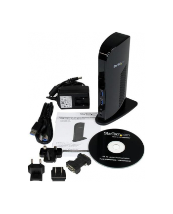Startech Stacja/replikator USB 3.0 / DVI / HDMI Czarna (USB3SDOCKHD)