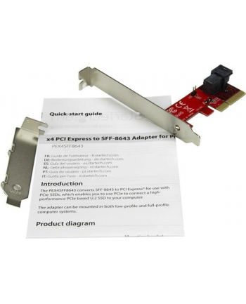 Startech SFF-8643 PCIe (PEX4SFF8643)