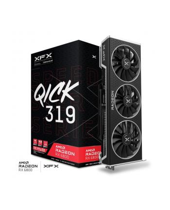 Karta graficzna XFX RX 6800 QUICK 319 BLACK AMD Radeon 16GB GDDR6 3xDP HDMI