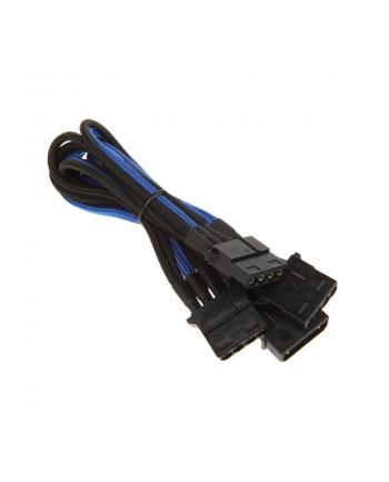 bitfenix Adapter Molex na 3x Molex 55 cm czarno niebieski (BFA-MSC-M3MBKK-RP)