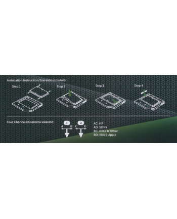 Kolink Adapter 2.5'' dysk SATA (HDKO001)