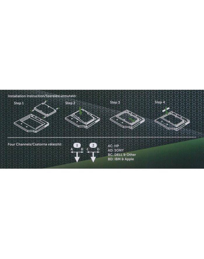 Kolink Adapter 2.5'' dysk SATA (HDKO001) główny
