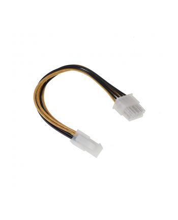 inline Adapter zasilania Molex na 8-Pin ATX (26633)