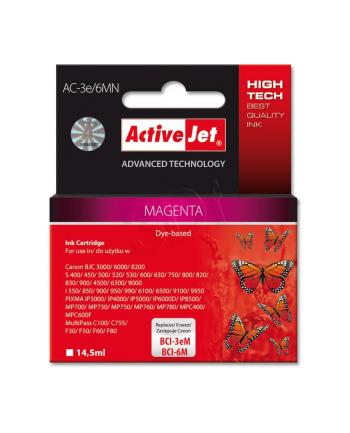 ActiveJet AC-3e/6M tusz magenta do drukarki Canon (zamiennik BCI-3eM  BCI-6M)