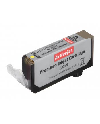 ActiveJet ACR-521Y tusz yellow do drukarki Canon (zamiennik CLI-521Y)