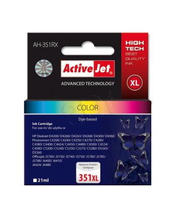 ActiveJet AH-E38 tusz kolorowy do drukarki HP (zamiennik CB338EE nr 351XL)