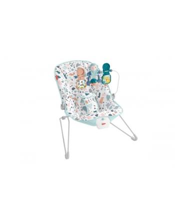 Fisher-Price Leżaczek bujaczek Baby Gear 9kg z wibracjami GWD38 MATTEL