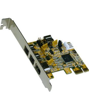 EXSYS 4-port FireWire 1394B PCI-Express Card (EX-16415)