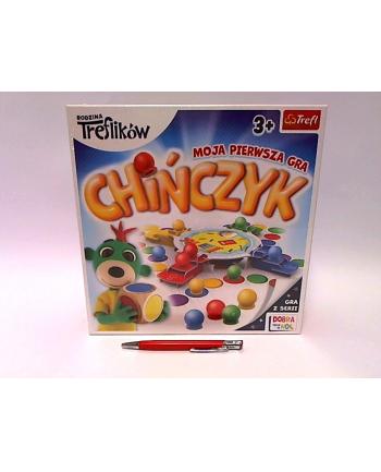 PROMO Chińczyk Moja pierwsza gra Rodzina Treflików 02056 Trefl