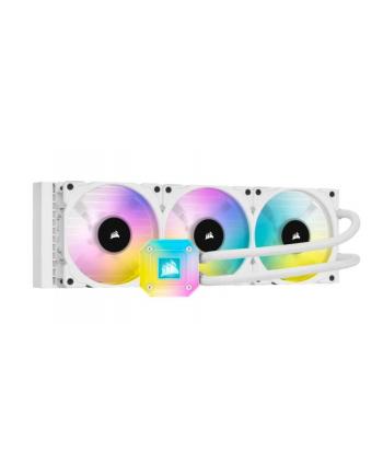 corsair Chłodzenie wodne iCUE H150i ELIT E CAPELLIX 360mm RGB Białe