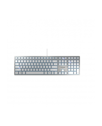 CHERRY TAS KC 6000 Slim grau USB Pan Nordic Layout
