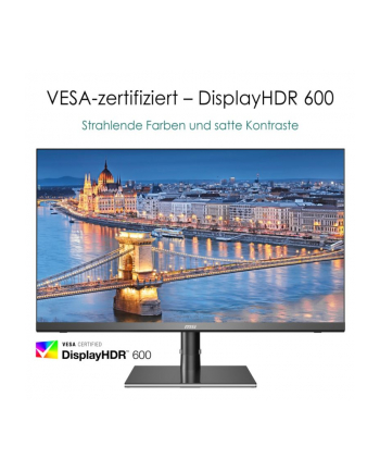 MSICreator PS321URV 81.3 cm (32'') 3840 x 2160 pixels 4K Ultra HD LCD Black, Gaming monitor
