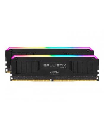 Crucial Ballistix MAX RGB DDR4 - 32GB - 4400 - CL - 19 Dual Kit (BLM2K16G44C19U4BL)