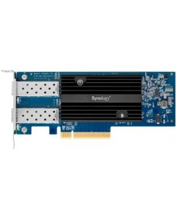 synology Karta sieciowa E10G21-F2 2xSFP+ 10Gbps PCI-e 3.0 x8 Full Duplex