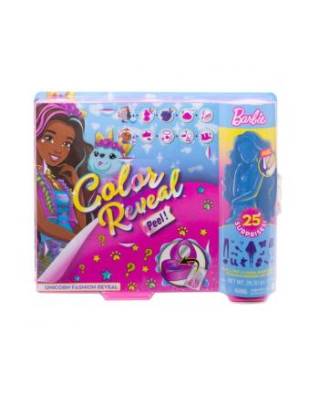 Lalka Barbie Kolorowa Niespodzianka Fantazja Jednorożec GXV95 MATTEL