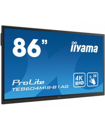 iiyama Monitor wielkoformatowy TE8604MIS-B1AG 86cali PureTouch-IR, IPS, 24/7, 4K, USB-C