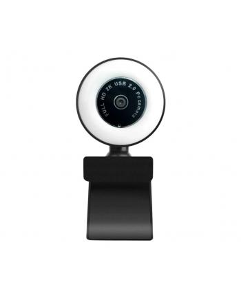 DUXO KAMERA INTERNETOWA 1080P USB Z MIKROFONEM  OŚWIETLENIE SELFIE-RING WEBCAM-Q20