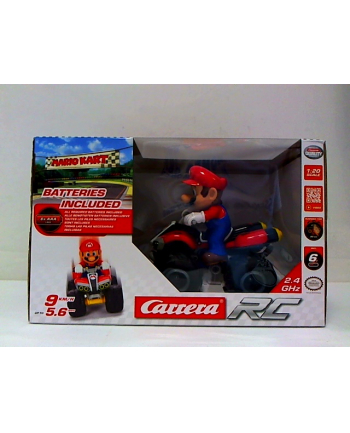 CARRERA RC 1:20 Mario Kart 8 Quad 2,4GHz 370200996