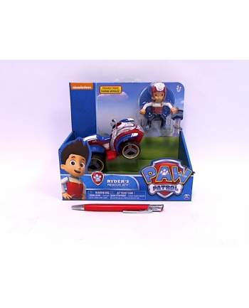 spin master SPIN Psi Patrol figurka Ryder+poj quad 6024006/6