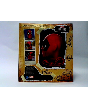 hasbro MARVEL interaktywna głowa Deadpool E6981 /2