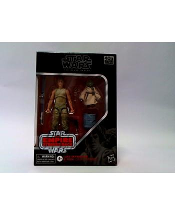 hasbro SW Black Deluxe Luke ' Yoda E9642 /6