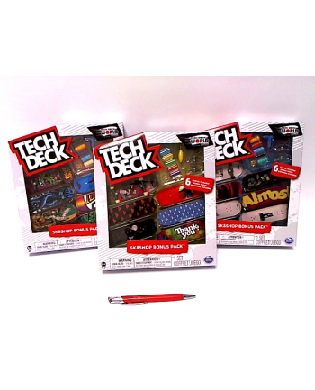 spin master SPIN Techdeck Skateshop zestaw 99495 6028845/6