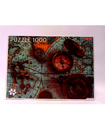 tactic Puzzle 1000 Vintage Sea Map 56756 67563