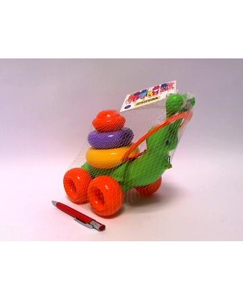 WAD-ER Ślimak zabawka edukacyjna 8el 42230 22308