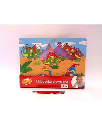 anek - smily play Układ.drewn.dinozaury Smily Play SPW83597 35972