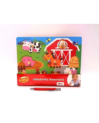 anek - smily play Układ.drewn.farma Smily Play SPW83605 36054