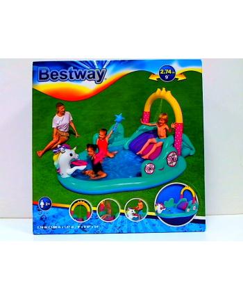 bestway Plac zabaw Jednorożec ze zjeżdżalnią B53097 68842