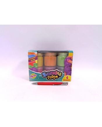 stnux Sandy Slime zestaw 6 kolorów po 160g STN 6598