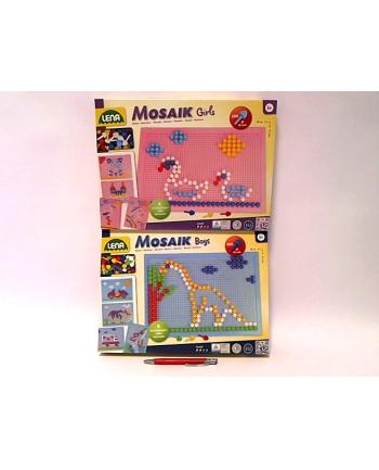 LENA mozaika Girls'Boys 200 elementów 35610 03606