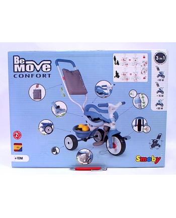 Rowerek trójkołowy Be Move komfort niebieski SMOBY