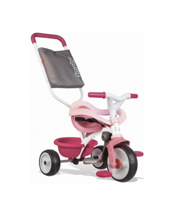 Rowerek trójkołowy Be Move komfort różowy SMOBY