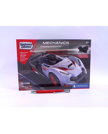 Clementoni Laboratorium Mechaniki - Samochód wyścigowy HYPERCAR 50683
