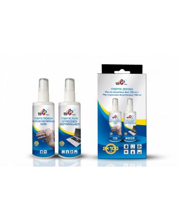 tb clean Zestaw do dezynfekcji dłoni + powierzchni 2x 100 ml