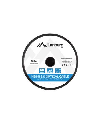lanberg Kabel HDMI M/M v2.0 100 czarny CA-HDMI-20FB-1000-BK