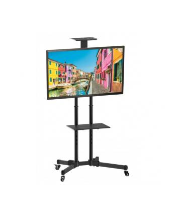 TECHLY Stojak Mobilny TV LED/LCD 37-70inch 50kg 2 Półki Regulowany