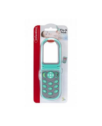 pulio Infantino 306307 Telefon z dźwiękami zielony
