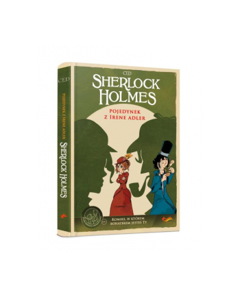 foksal Książka Sherlock Holmes. Pojedynek z Irene Adler