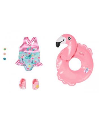 zapf creation BABY born® Wakacyjny zestaw do pływania 43cm 831731