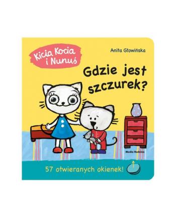 inni Książka Kicia Kocia i Nunuś. Gdzie jest moja szczurek?