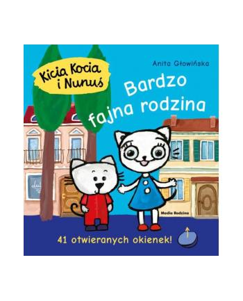 inni Książka Kicia Kocia i Nunuś. Bardzo fajna rodzina.