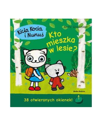 inni Książka Kicia Kocia i Nunuś. Kto mieszka w lwsie?